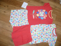 Bundle of 2 Summer pyjama sets for 5-6 years, 100% cotton. Excellent condition. Hardly worn.