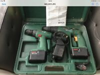 Bosch twin set