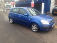 FINANCE AVAILABLE kia Rio diesel 4door new clutch very nice condition centr locking e/c windows a/c