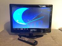 "15.6"" HD Ready Digital LCD TV with integrated DVD player"