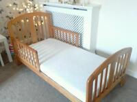 Two identical beds forsale with mattress junior bed both in excellent condition £45 each