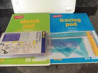 A3 Size Drawing Board & Accessorises Bundle