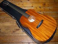 tkin D-MAG Mahogany Dreadnought acoustic