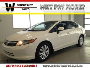 2012 Honda Civic LX| BLUETOOTH| CRUISE CONTROL| A/C| 93,659KMS Kitchener / Waterloo Kitchener Area image 1