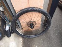 """front 26"""" mountain bike wheels with disc"""