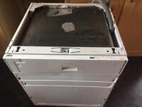 Integrated Zanussi Dishwasher