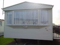golden gate towyn 6 birth 3 bedroom caravan for hire no pets 6 people max