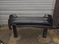 AUDI A5 8T S-LINE REAR BUMPER WITH VALANCE