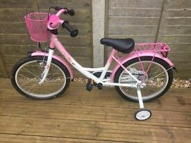 Girls bike 18 inch in excellent condition