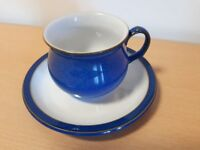 Denby Imperial Blue cup & saucer sets