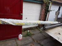 Sale / Weed control mat / carpet, 4.5mtrs wide x 100 mtrs long, DN1