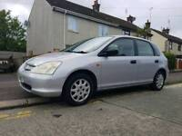 Honda civic 1.4s good reliable family car - reasonable offers - suzuki - ford - seat - vw - fiat
