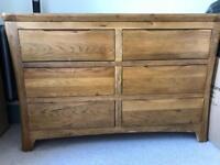 Oak Furniture Land Chest Drawers