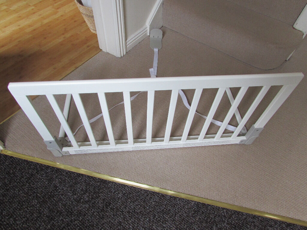White Baby Dan Bed Guard