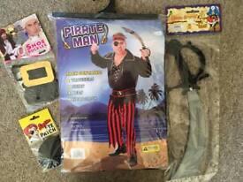 Pirate Halloween Costume Brand New