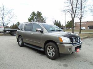 2006 Nissan Armada 7 passenger, Heated leather front seats, Auto