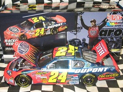 1 24 Jeff Gordon Dupont Talladega Race Win 2007 Nascar Diecast Raced Version Car