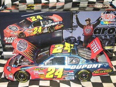 1 24 Jeff Gordon Dupont Talladega Race Win 2007 Nascar Diecast Raced Version Car