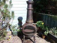 Chiminea cast iron