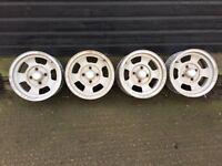 WOLFRACE 'SLOTMAG' Pattern Alloy Wheels (4) 6J x 14