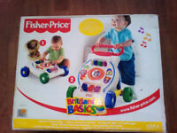 Fisher-Price Brilliant Basics Musical Activity Walker brand new in a box
