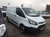 2015 TRANSIT CUSTOM VANS LEASE FROM ONLY £199 MONTH BUSINESS USERS OVER 50 USED VANS IN STOCK