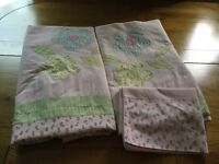 Laura Ashley Bunk bed duvet covers (x2) and pillowcases