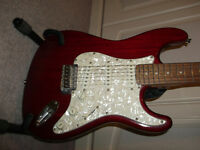 Encore Electric Guitar RED