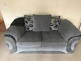 Lovely grey sofa suite