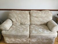A two seats sofa bed