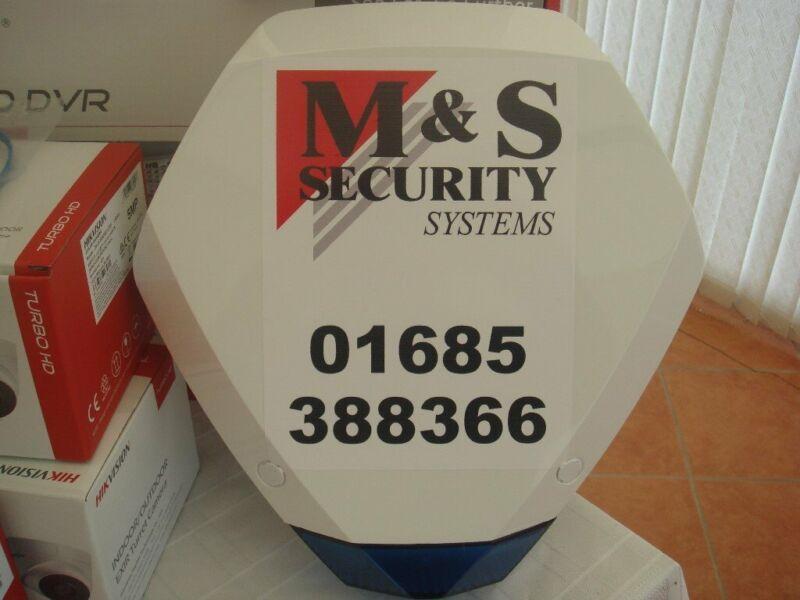 BURGLAR/INTRUDER ALARM SYSTEMS WIRED OR WIRELESS FULLY INSTALLED for sale  Merthyr Tydfil, Wales