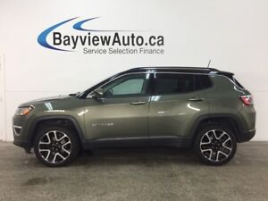 2017 Jeep Compass Limited - REM START! PANOROOF! HTD LTHR! NA...