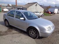2005 VOLKSWAGEN BORA HIGHLINE TDI 100 SILVER 1 OWNER FROM NEW