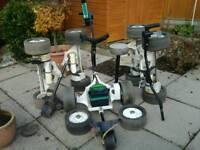 Powakaddi trolley and spare parts