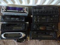 Number of old car radios