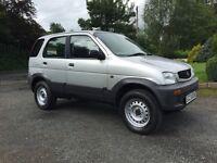 2000 Daihatsu Terios 4x4, 1.3 petrol, Silver