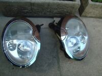 MINI cooper S supercharged XENON HEADLIGHT x 2 fits 2001 onwards
