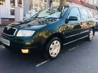 **SUPER LOW MILEAGE 30K**URGENT SALE**AUTOMATIC 1.4 FABIA ESTATE**TAX**MOT TILL SEPT**FULL HISTORY**