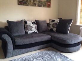 Small sofa excellent condition .