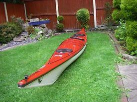 P&H Quest LV Sea kayak