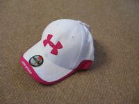 Ladies Under Armour golf hat