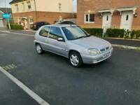 Cheap ideal 1.1 first car with VERY LOW MILE & long mot ,very light to drive , px welcome