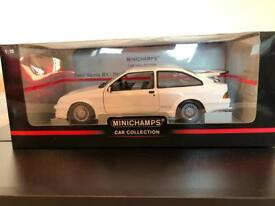 New Minichamps 1/18 scale ford Sierra Cosworth 1988