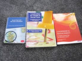 Study Books for Health and Social Care, SVQ Level 4 (Older Adults)