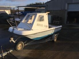 17FT WILSON FLYER DORY FISHING BOAT PROJECT (TRAILER NOT INCLUDED)