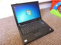 Lenovo ThinkPad Laptop, Dual Core, 3 GB Ram