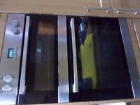 LAMONA DOUBLE OVEN FOR SPARES OR REPAIR 6 YEARS OLD WORKS FINE, NOISY FAN NEEDS A GOOD CLEAN