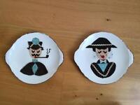 Decorative Shelley London plates