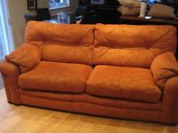 G Plan 3 Piece Suite: 3 Seater Sofa, 2 armchairs.
