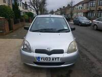 Toyota Yaris HPI clear Low mileage EXVELLENT CONDITION